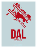 Dal Dallas Poster 3 Prints by  NaxArt