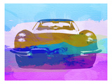 Jaguar E Type Front Posters by  NaxArt