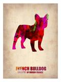 French Bulldog Poster Plakater af NaxArt