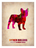French Bulldog Poster Posters by  NaxArt