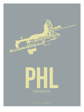 Phl Philadelphia Poster 1 Prints by  NaxArt