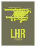 Lhr London Poster 3 Prints by  NaxArt