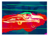 Aston Martin Vs Porsche Reproduction giclée Premium par  NaxArt