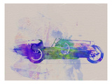 Bugatti Type 35 R Watercolor 2 Prints by  NaxArt