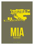 Mia Miami Poster 1 Posters by  NaxArt
