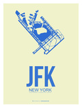 Jfk New York Poster 3 Posters by  NaxArt