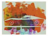 Lamborghini Miura Side 2 Print by  NaxArt