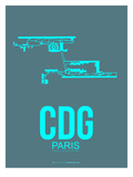 Cdg Paris Poster 1 Prints by  NaxArt