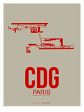 Cdg Paris Poster 2 Posters by  NaxArt