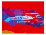 Porsche 917 Rothmans 4 Poster by  NaxArt