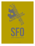 Sfo San Francisco Poster 3 Posters by  NaxArt