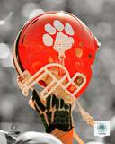 NCAA Clemson University Tigers Helmet Spotlight Photo