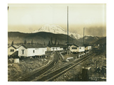 St Paul and Tacoma Labor Co. Camp 5, ca. 1908 Giclee Print by Clark Kinsey