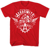 Aerosmith - Livin' On The Edge Camisetas