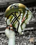 New Orleans Saints Helmet Spotlight Photo