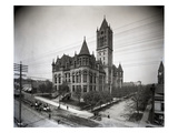 Pierce County Courthouse, Tacoma (1907) Giclee Print by Ashael Curtis