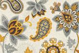 Decorative Nature I Yellow Gray Cream Plakater av  Pela