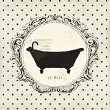 Cartouche Bath Affiche par Emily Adams