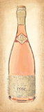 Sparkling Rose Bottle Posters by Emily Adams