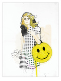 Never Been So Happy Giclee Print by  Mydeadpony