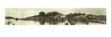 Panoramic Photo of Gig Harbor, WA (January 16, 1927) Giclee Print by Marvin Boland