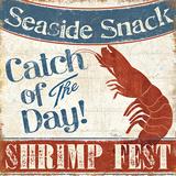 Fresh Seafood III Posters by Pela Studio