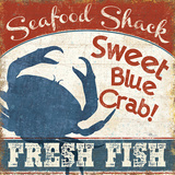 Fresh Seafood II Prints by Pela Studio