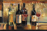 Les Vins Maison Affiches par Marilyn Hageman