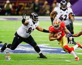 Haloti Ngata Super Bowl XLVII Action Photo