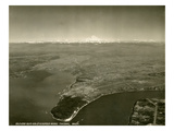 Tacoma, Washington, Aerial View (ca. 1937) Reproduction procédé giclée