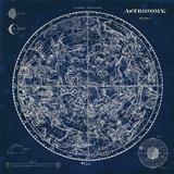 Celestial Blueprint Poster von Sue Schlabach