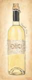 Grand Cru Blanc Bottle Art by Emily Adams