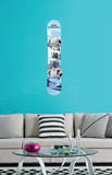 Gone Snowboarding Wall Decal Sticker Wall Decal