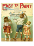 Easy to Paint, 1914 Giclee Print by E.P. Dutton