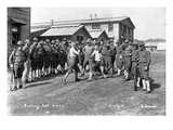 U.S. Army, Company F, 44th Infantry, Boxing, Camp Lewis, 1918 Giclee Print by Marvin Boland