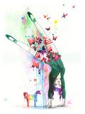 Mini Unicorn Posters par Lora Zombie