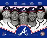 Atlanta Braves 2013 Team Composite Photo