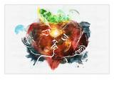 Strawberry Swing Posters par Alex Cherry