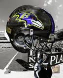 Baltimore Ravens Helmet Spotlight Photo