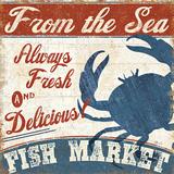Fresh Seafood IV Plakater af  Pela