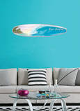Gone Surfing Wave Wall Decal Sticker Wall Decal