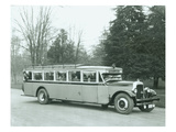 North Coast Lines Motor Coach, 1927 Giclee Print by Chapin Bowen
