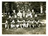 Spanaway Baseball Team (1907) Giclee Print