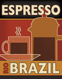 Deco Coffee I Posters by Pela Studio