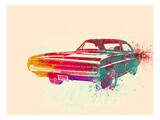 1967 Dodge Charger 1 Prints by  NaxArt