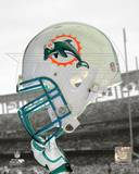 Miami Dolphins Helmet Spotlight Photo