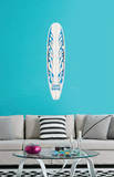 Blue Flames Wall Decal Sticker Wall Decal