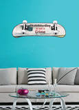 Skateboarding is not a Crime Wall Decal Sticker Wall Decal