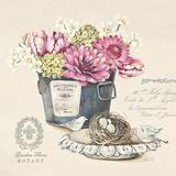 Bouquet Naturel I Affiche par Stefania Ferri