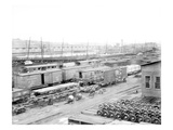 Milwaukee Freight Yards, 1926 Giclee Print by Chapin Bowen